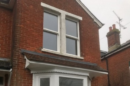 Tucker joinery have been asked by our clients to replace the top windows back to the original sliding sash windows.its nice to see traditional timber windows as they would have been